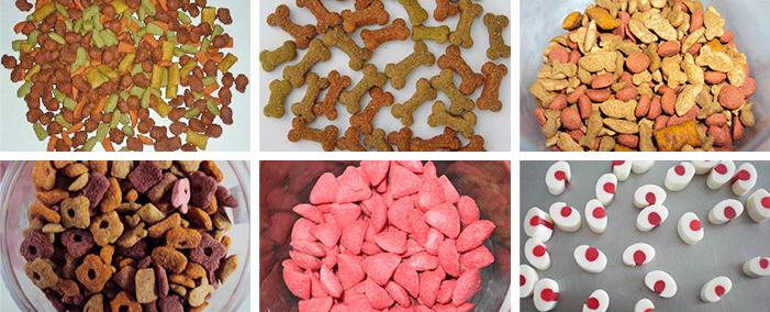 狗粮生产线生产样品