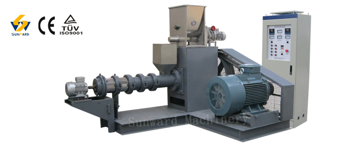 small single screw extruder machine