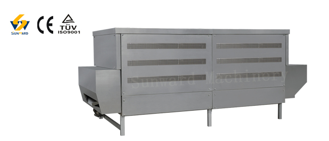 High temperature indflated oven