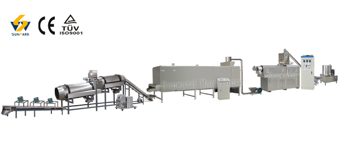 Floating & Sinking Fish Feed Processing Line