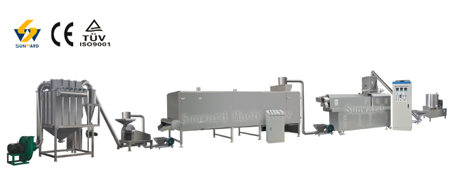 Denaturated Starch Nutrition Powder Processing Line
