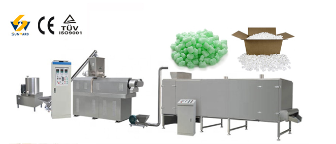 Biodegradable Packing Foam Peanuts Producing Line