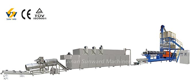 Large Capacity Pet Food Processing Line