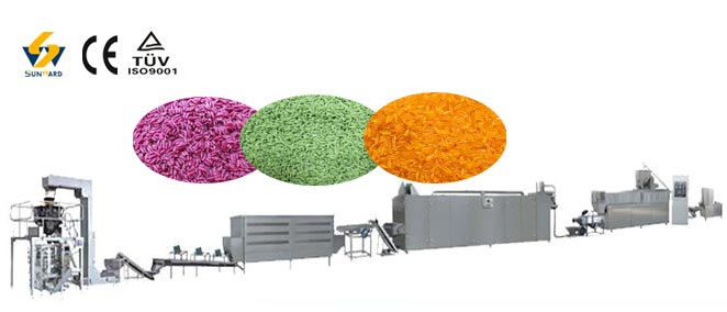 Fortified Nutritional Rice Processing Line